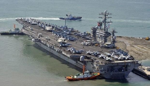 تمرینات نظامی آمریکا در خلیج فارس آغاز شدند