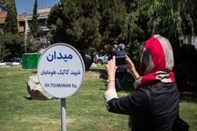 سردیس شهید گاگیک طومانیان در محل این میدان نصب شد