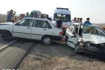 تصادف در یزدانشهر نجف آباد 7 مصدوم برجاگذاشت