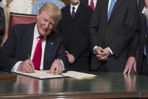 ترامپ فرمان تشکیل فرماندهی نیروی نظامی فضایی را صادر کرد