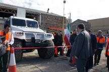 خودروی چند منظوره ترکول تحویل راهداری کردستان شد