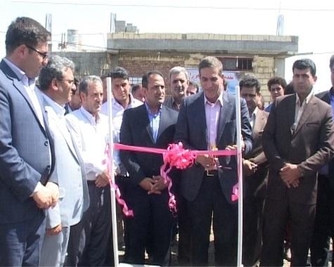 افتتاح 9 طرح خدماتی در ملکان