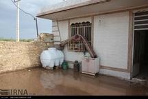 هفت تاسیسات آبرسانی در شهرستان شوش زیر آب رفته است