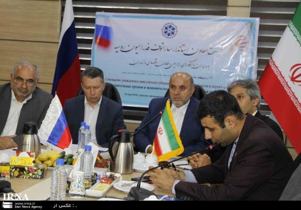 تفاهم نامه همکاری میان مازندران و ساراتف روسیه امضا می شود
