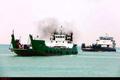 غرق شدن کشتی باری در آبهای ابوموسی  کشف جسد ۲ سرنشین