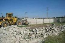 16 مورد قلع و قمع ساخت و ساز غیر مجاز در اراضی کشاورزی آران و بیدگل اجرا شد