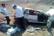 واژگونی خودرو در جاده بردسکن - طبس یک کشته داشت