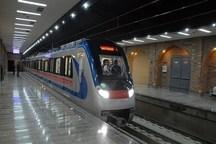کاهش سرفاصله قطارهای مترو تهران در روزهای پایانی سال