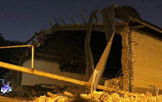 حادثه انفجار بخشی از ورزشگاه تختی اهواز تلفات جانی نداشت