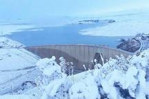 میزان ذخیره سد زاینده رود به 161 میلیون متر مکعب رسید