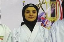 بانوی ایلامی عازم لیگ جهانی کاراته می شود