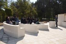 دانشکده کشاورزی دانشگاه شیراز از کلاس طبیعت بهرهبرداری کرد