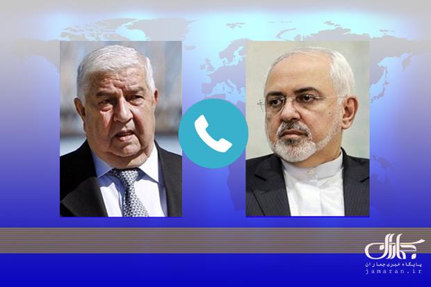 گفت و گوی تلفنی دکتر ظریف با همتای سوری