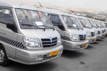 450 تاکسی ون نمازگزاران تهرانی را روز عید فطر جابجا می کنند