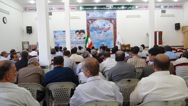 همایش فصلی ناظران شورای نگهبان در مهریز برگزار شد