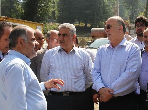 استاندار گیلان: روند تکمیل سد پلرود، 60 درصد پیشرفت دارد
