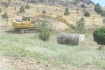 رفع تصرف از 4هکتار اراضی ملی شهرستان شمیرانات