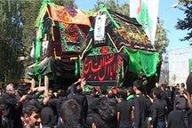 آیین سنتی نخل برداری در گوگد گلپایگان برگزار شد