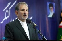 جهانگیری: همدان 2018 فرصتی بزرگ است تا جایگاه واقعی ایران را به جهان معرفی کنیم