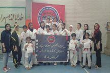 درخشش بانوان کاراته کا آذربایجان شرقی در مسابقات کشوری