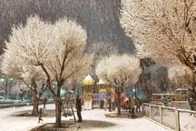 برف و باران در راه اصفهان