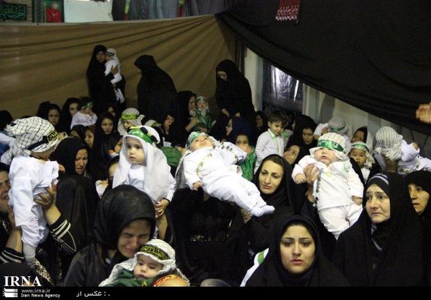 همایش شیرخوارگان حسینی در جنوب شرق استان تهران برگزار شد
