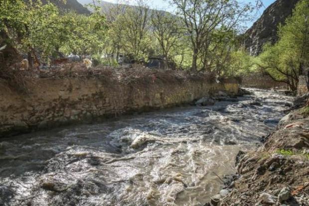 90 کیلومتر از رودخانه های شیروان مطالعه شد