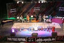 نهمین جشنواره موسیقی استان فارس برگزیدگانش را شناخت