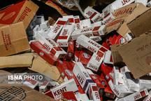افزایش کشفیات قاچاق سیگار در زنجان