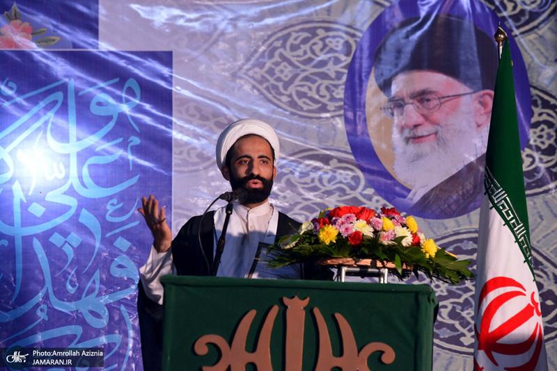 مراسم جشن شب عید غدیر در جوار حرم مطهر بنیانگذار جمهوری اسلامی ایران