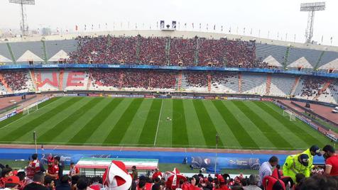 حالوهوای ورزشگاه آزادی در فاصله چند ساعت مانده به فینال آسیا +عکـس