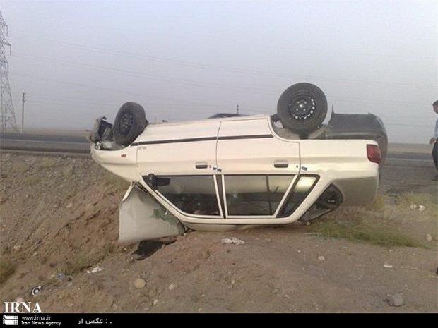 واژگونی پراید در فیروزکوه یک کشته بر جا گذاشت