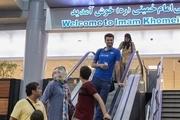 ملی پوشان والیبال وارد ایران شدند+ تصاویر