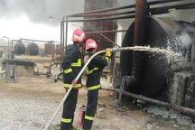 آتش سوزی در شهرک شهید سلیمی تبریز ۶ مصدوم بر جای گذاشت