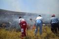 آتشسوزی مراتع بیدخوار شهرستان جم مهار شد