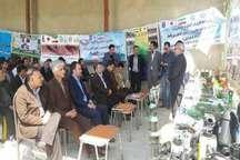 گشایش نمایشگاه کشاورزی پایدار برای احیای دریاچه ارومیه در میاندوآب