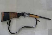 شکارچی متخلف در تاکستان دستگیر شد