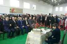 برپایی نمایشگاه جشنواره ملی دانش آموزی جابربن حیان در کرج