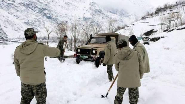 عکس/ افغانستان، گرفتار در برف