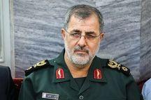 فرمانده نیروی زمینی سپاه از مرز میرجاوه بازدید کرد