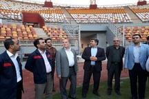 ورزشگاه فولاد خوزستان استانداردهای روز جهان را دارد