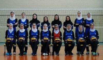 بانوی فارسی راهی رقابت های والیبال نوجوانان آسیا شد