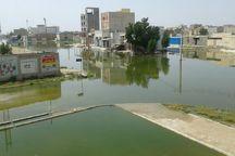 فاضلاب به برخی خانه ها در خوزستان وارد شده است