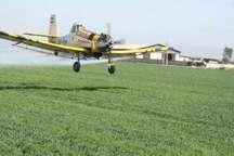 سقوط هواپیمای سمپاش در گلستان  حال خلبان مساعد است