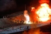 بازسازی عملیات بیت المقدس 7 در یزد