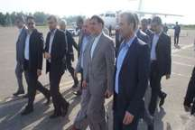 وزیر راه و شهرسازی وارد شهرستان چالوس شد