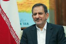استقبال رسمی نخست وزیر عراق از دکتر جهانگیری