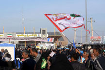 ۲۷۰ هزار زائر از مرز شلمچه عبور کردند