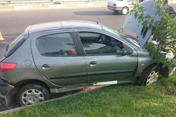 تصادف زنجیره ای در بزرگراه اقارب پرست اصفهان 7 مصدوم داشت