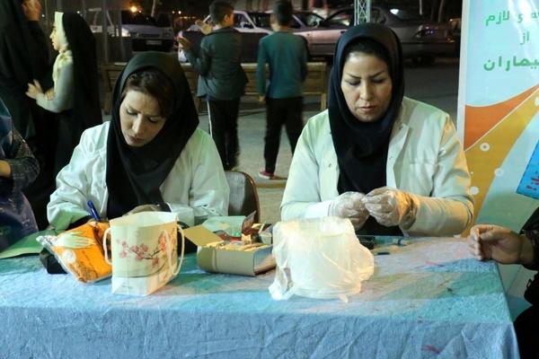 تست رایگان قند و فشار خون روزه داران در مشهد